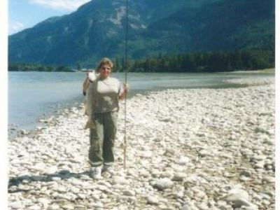 My first Fraser River sockeye